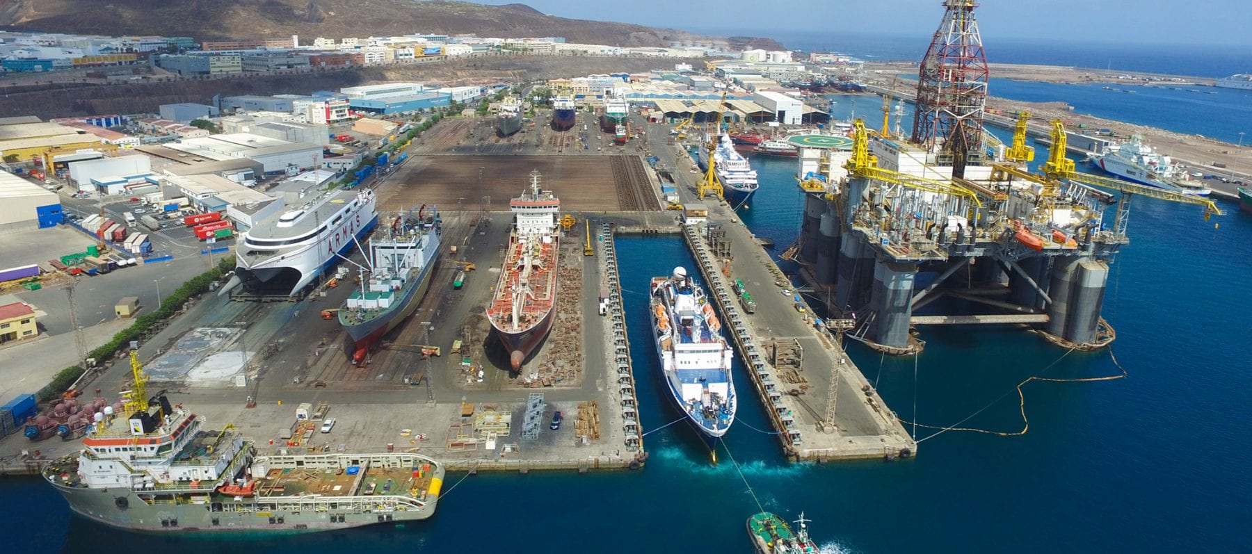Astican Shipyard, Canary Islands